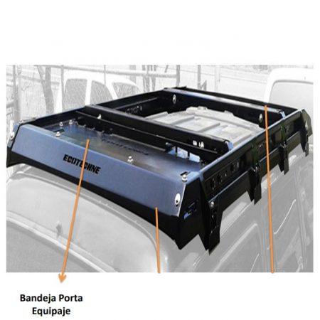 BANDEJA PORTA EQUIPAJE PARA BT50