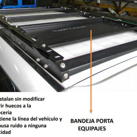 BANDEJA PORTA EQUIPAJE PARA FORTUNER