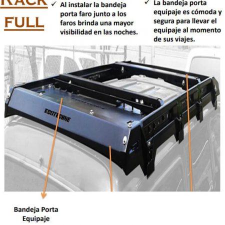 BANDEJA PORTA EQUIPAJE PARA SAMURAY