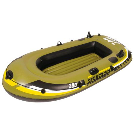 06-33-302 ECOLOGY SET BOTE INFLABLE MOD. FISHMAN 1P